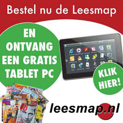 Leesmap tablet bij abonnement